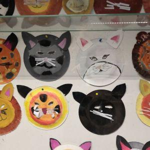 Tiermasken gestalten