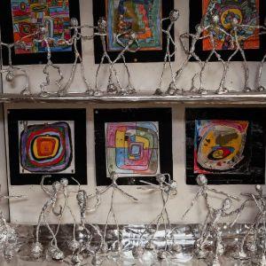 Figürliche Plastiken nach Alberto Giacometti