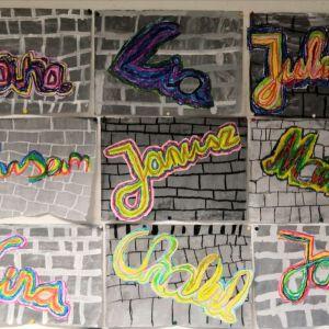 Graffiti-Schrift